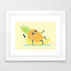 Summer Chillin Framed Art Print