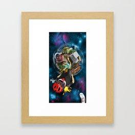 Our Little World Framed Art Print