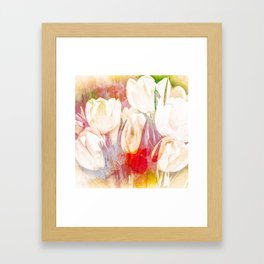 Tulip Fever Abstract Art Framed Art Print