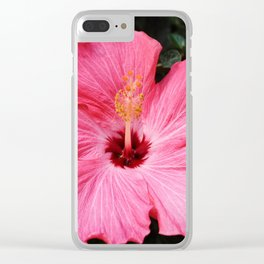 Five Pink Petals Clear iPhone Case
