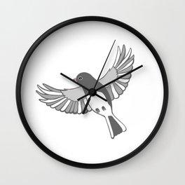 Dark-eyed junco Wall Clock