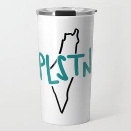 PLSTN x Blue Travel Mug