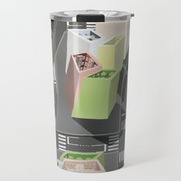 Inside-out - urban living Travel Mug