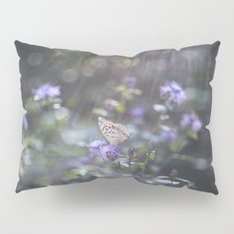 Sunrays  over the butterfly Pillow Sham