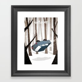 Rollover Framed Art Print