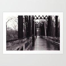 I Ragazzi Sul Ponte Art Print