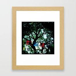 Dia de fiestas Framed Art Print