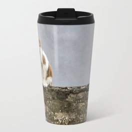 Le chat sur le mur - Cat on the Wall Travel Mug