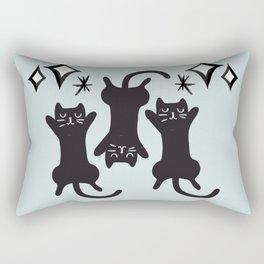 A Tribute to Floki Kitty Rectangular Pillow