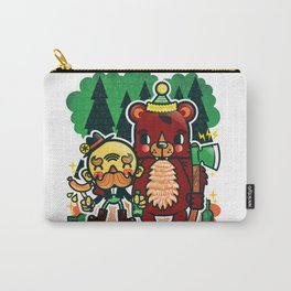 Lumberjack and Friend Carry-All Pouch