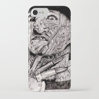 freddy krueger iPhone & iPod Cases featuring Freddy Krueger by Emz Illustration