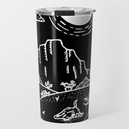 Desert Scene Illustration Invert Travel Mug