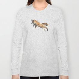 Penrose Tiling Fox  Long Sleeve T-shirt