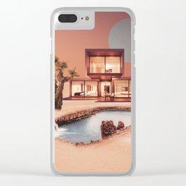 Villa Clear iPhone Case