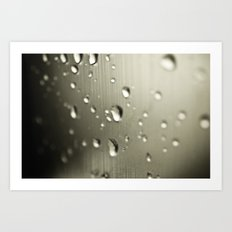 Rain Drops Keep Falling Art Print