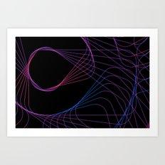 Spirowire Art Print