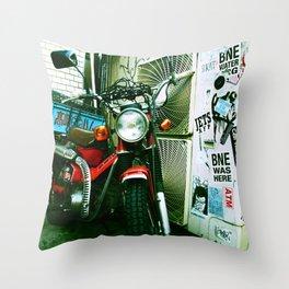 harajuku bike Throw Pillow