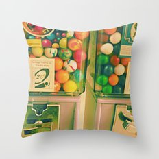 goody goody gumball! Throw Pillow