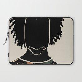 Black Hair No. 9 Laptop Sleeve