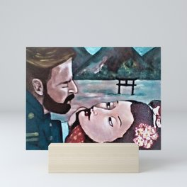 MADAME BUTTERFLY Mini Art Print