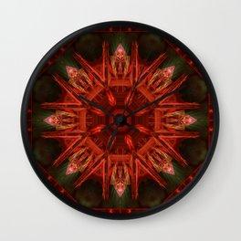 Mandala Inka Wall Clock