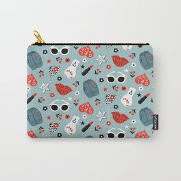 Rockabilly woman Carry-All Pouch