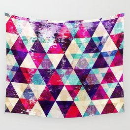 "Retro Geometrical Abstract Design ""Josephine"" inspired Wall Tapestry"