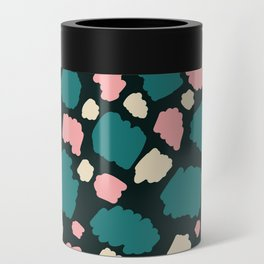 abstract paint swatches Can Cooler