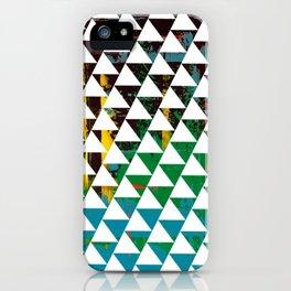 Color Chrome -geometric graphic iPhone Case