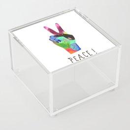 Peace! Acrylic Box