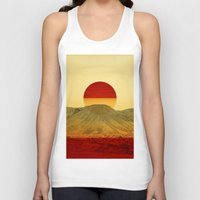 outdoor Tank Tops featuring Warm abstraction by Stoian Hitrov - Sto