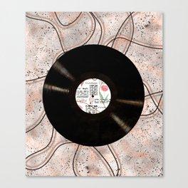 Vinyl record Canvas Print