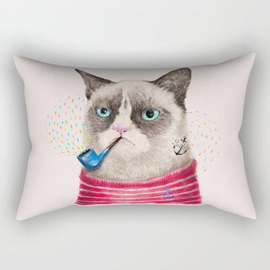 Sailor Cat II Rectangular Pillow