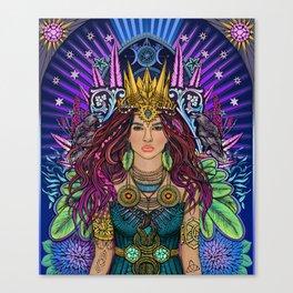 Queen Mother Goddess Canvas Print