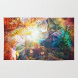 The Cat Galaxy Rug