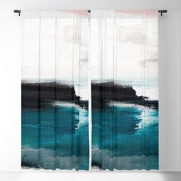 Abstract Oil Painting No. 116 Blackout Curtain