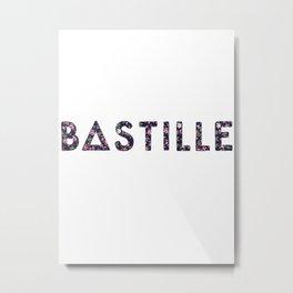 Bastille Flower Logo Metal Print