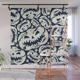 Happy Halloween  pumpkin pattern Wall Mural
