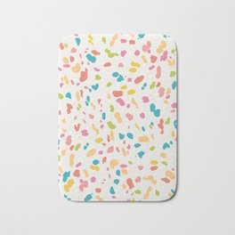 Colorful Animal Print Bath Mat