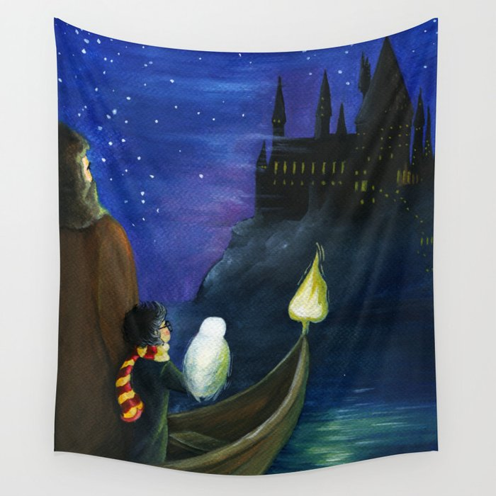 Harry's Journey Wall Tapestry