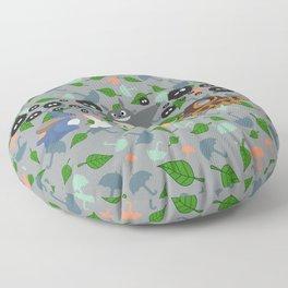 Troll in Motion Floor Pillow