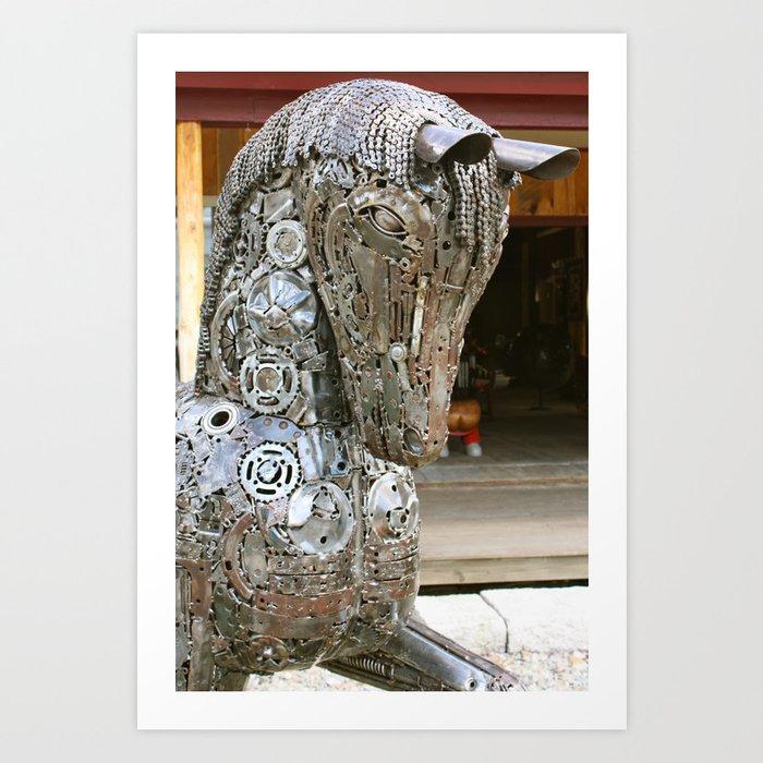 Trojan Horse Art Print by artbyrobin