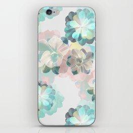 Succulent Pattern iPhone Skin