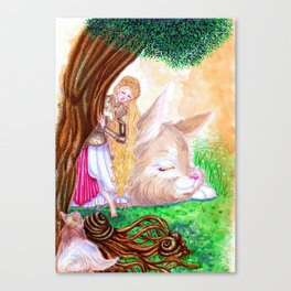 Goddess of Lust and War Canvas Print