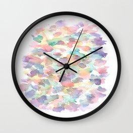 150725 My Happy Bubbles 10 Wall Clock