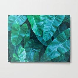 Plant collage VII Metal Print