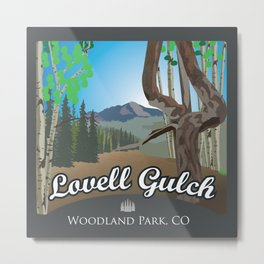Lovell Gulch Trail Metal Print
