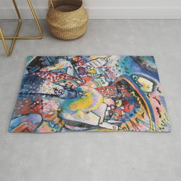 Moscow by Wassily Kandinsky Rug