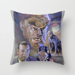 The Wolf Man (1941) Throw Pillow