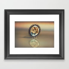 Little Cat Framed Art Print